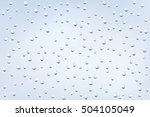 water background with water... | Shutterstock .eps vector #504105049