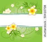 floral banner | Shutterstock .eps vector #50410708