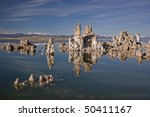 Landscape Of Mono Lake With...