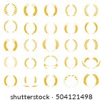 concept for organic products... | Shutterstock .eps vector #504121498