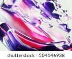 bright watercolor. watercolor... | Shutterstock . vector #504146938
