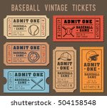 collection of vector... | Shutterstock .eps vector #504158548