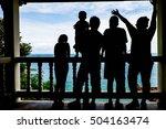 travel of family | Shutterstock . vector #504163474