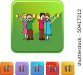 toasting | Shutterstock .eps vector #50417212