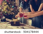party  holidays  celebration ... | Shutterstock . vector #504178444