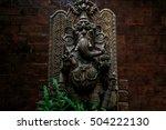 Carved Wooden Ganesh Temples I...