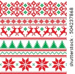 new year's christmas pattern... | Shutterstock .eps vector #504237868