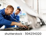 auto service  repair ... | Shutterstock . vector #504254320
