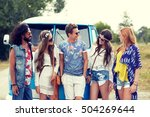 summer holidays  road trip ... | Shutterstock . vector #504269644