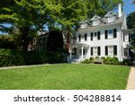 typical victorian home at the... | Shutterstock . vector #504288814