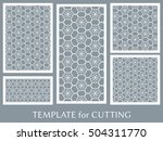 wedding invitation  greeting... | Shutterstock .eps vector #504311770