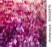 abstract colorful triangles... | Shutterstock .eps vector #504330970
