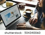 destination journey leisure... | Shutterstock . vector #504340060