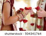 amazing hindu wedding ceremony. ... | Shutterstock . vector #504341764