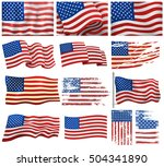 independence day patriotic... | Shutterstock .eps vector #504341890