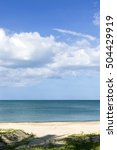 soft focus of sparkling sea... | Shutterstock . vector #504429919