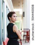 modern girl   celebrity  ... | Shutterstock . vector #504440008