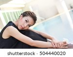 modern girl   celebrity  ... | Shutterstock . vector #504440020