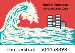 vector of concept art of world...   Shutterstock .eps vector #504458398