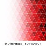 red grid mosaic background ...   Shutterstock .eps vector #504464974