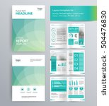 page layout for company profile ... | Shutterstock .eps vector #504476830