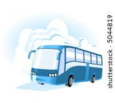 transport   travel icons. bus. | Shutterstock .eps vector #5044819