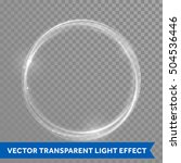White Ring Light With Tracing...
