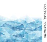 winter background | Shutterstock .eps vector #504537994