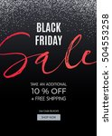black friday design for... | Shutterstock .eps vector #504553258