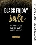 black friday design for... | Shutterstock .eps vector #504553270