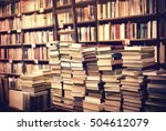 Lot Of Used Books In The...