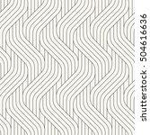 vector seamless pattern. modern ... | Shutterstock .eps vector #504616636