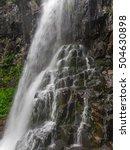 Big Waterfall Green Stone