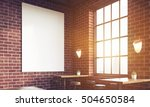 close up of sunlit bar interior ... | Shutterstock . vector #504650584
