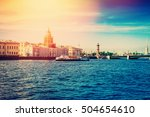 View Of Vasilievsky Island And...