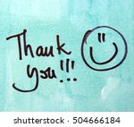 thank you | Shutterstock . vector #504666184