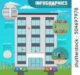 Infographic Apartment House In...