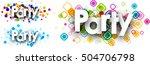 party colour banners set....