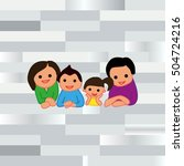 family icon  vector... | Shutterstock .eps vector #504724216