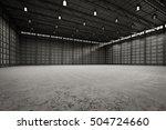 3d rendering interior empty... | Shutterstock . vector #504724660