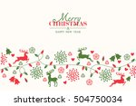 merry christmas holiday...   Shutterstock .eps vector #504750034