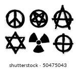 set of symbols | Shutterstock .eps vector #50475043
