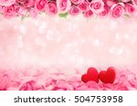 abstract background of... | Shutterstock . vector #504753958