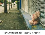 Abandoned Teddy Bear Left...