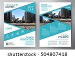 business brochure. flyer design.... | Shutterstock .eps vector #504807418
