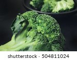 broccoli | Shutterstock . vector #504811024