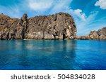 mu ko chumphon marine national... | Shutterstock . vector #504834028