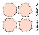 empty frame vector symbol icon... | Shutterstock .eps vector #504840184