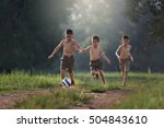 soccer ball. | Shutterstock . vector #504843610