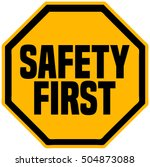 Safety First Octagonal Shape...
